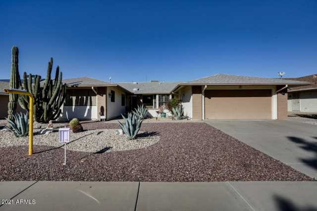 Photo of 21426 N SUNGLOW Drive, Sun City West, AZ 85375