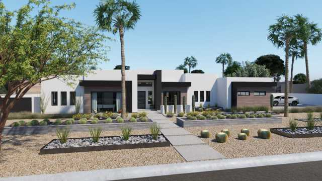 Photo of 7313 E JACKRABBIT Road, Scottsdale, AZ 85250