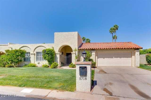 Photo of 5718 N 72ND Place, Scottsdale, AZ 85250