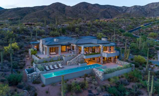 Photo of 9886 E STERLING RIDGE Road, Scottsdale, AZ 85262