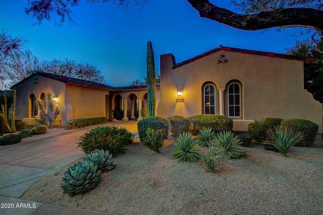 Photo of 9528 E MOUNTAIN SPRING Road, Scottsdale, AZ 85255