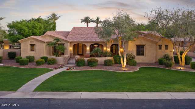 Photo of 2085 E CHAMPAGNE Place, Chandler, AZ 85249