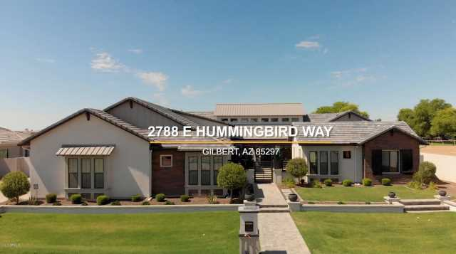 Photo of 2788 E HUMMINGBIRD Way, Gilbert, AZ 85297