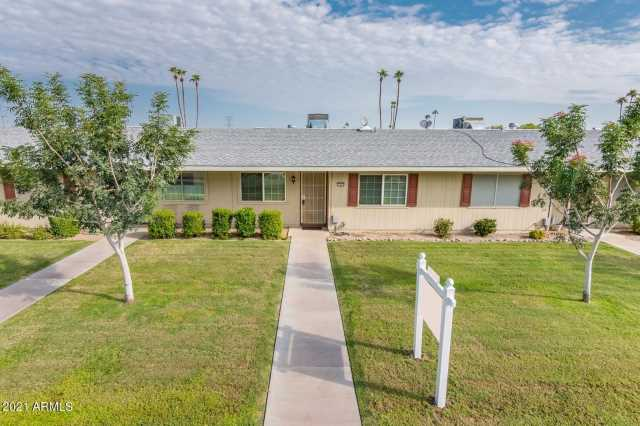 Photo of 13665 N GARDEN COURT Drive, Sun City, AZ 85351
