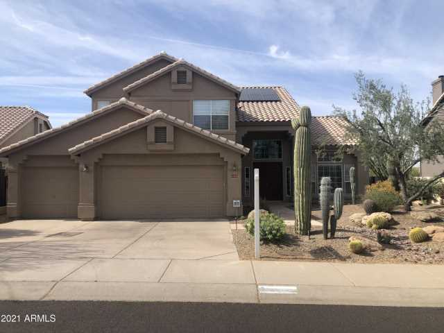 Photo of 11075 E GREYTHORN Drive, Scottsdale, AZ 85262