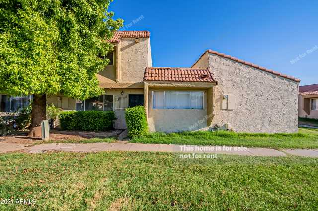 Photo of 4837 W MARLETTE Avenue, Glendale, AZ 85301