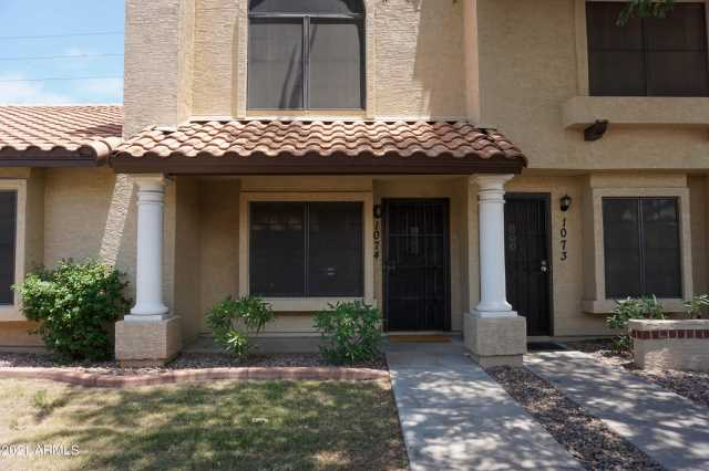 Photo of 921 W UNIVERSITY Drive #1074, Mesa, AZ 85201