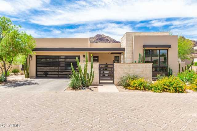 Photo of 5511 E VALLEY VISTA Lane, Paradise Valley, AZ 85253