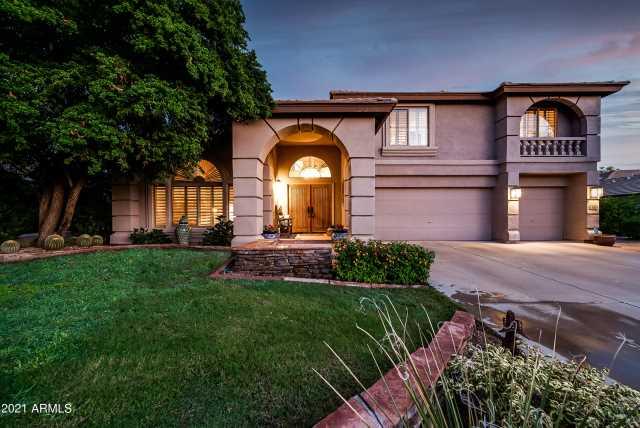 Photo of 7639 E WING SHADOW Road, Scottsdale, AZ 85255