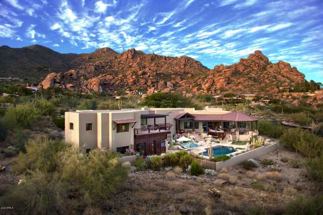Photo of 6711 E EL SENDERO Road, Carefree, AZ 85377