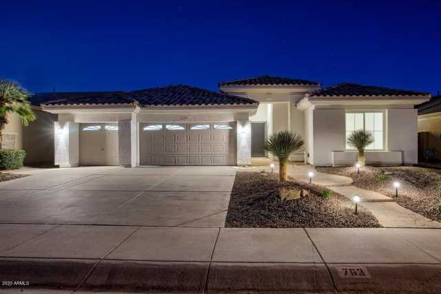 Photo of 763 W NOLAN Way, Chandler, AZ 85248