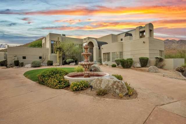 Photo of 10144 E FOOTHILLS Drive, Scottsdale, AZ 85255