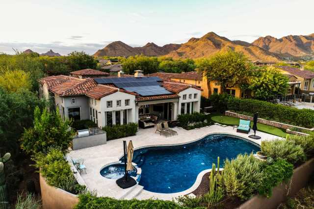 Photo of 9741 E Mountain Spring Road, Scottsdale, AZ 85255