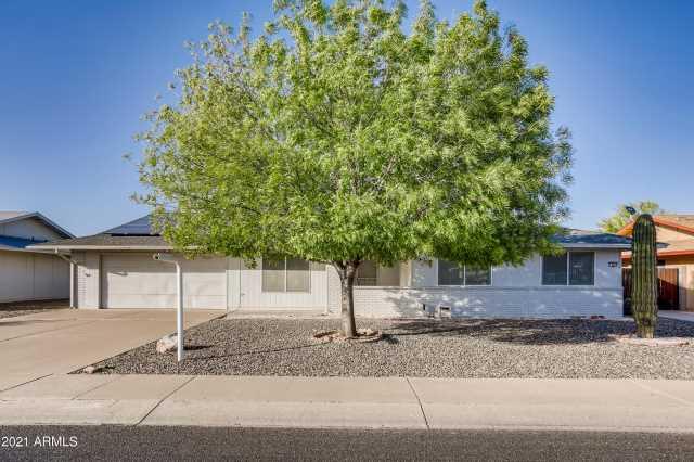 Photo of 9842 W FORRESTER Drive, Sun City, AZ 85351