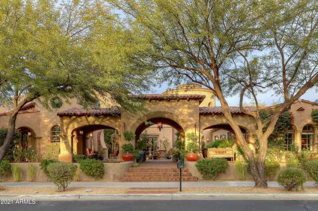 Photo of 10194 E MOUNTAIN SPRING Road, Scottsdale, AZ 85255