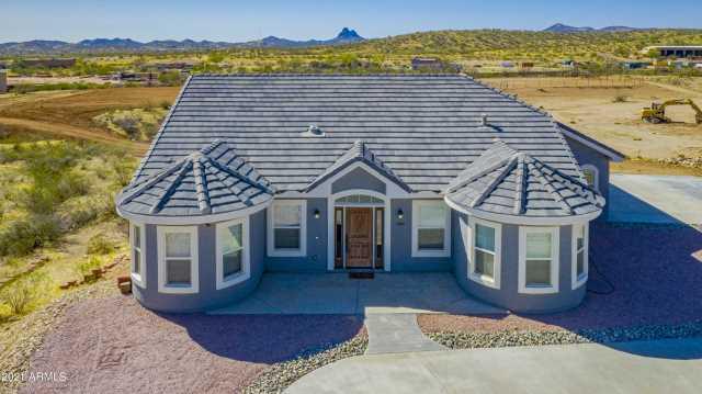 Photo of 3845 BLACK MOUNTAIN Road, Wickenburg, AZ 85390