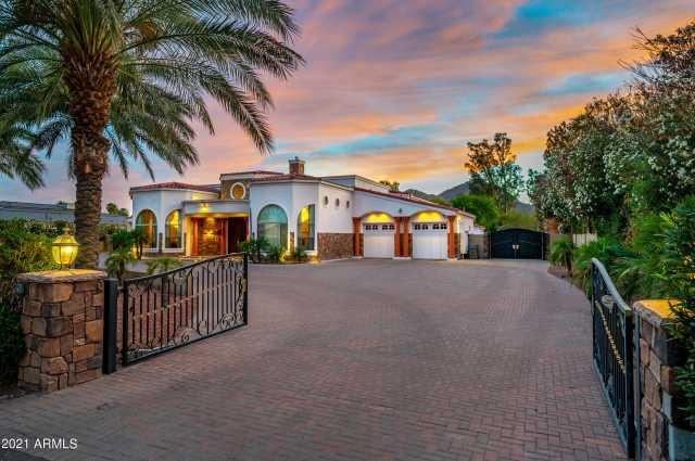 Photo of 5518 N QUAIL Place, Paradise Valley, AZ 85253