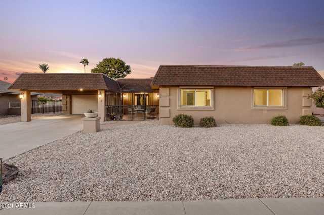 Photo of 10644 W BROOKSIDE Drive, Sun City, AZ 85351