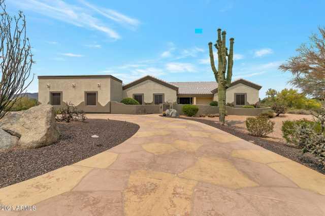 Photo of 9234 E LAZYWOOD Place, Carefree, AZ 85377